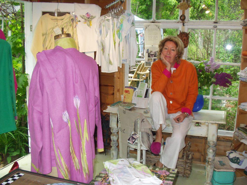 Margot in Summerhouse