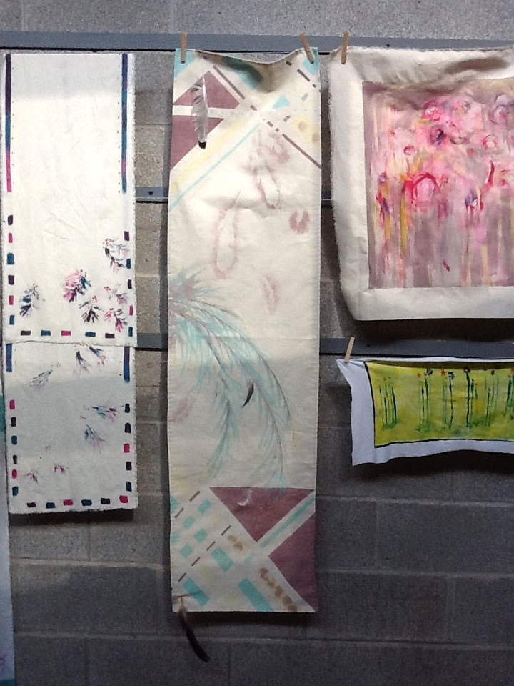 Painted Fabric 1